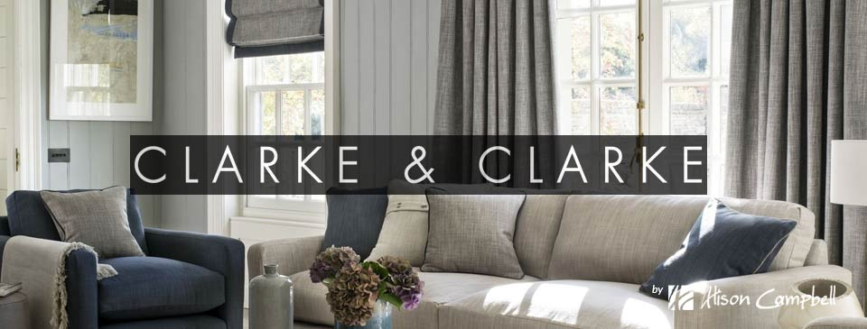 Clarke and Clarke Roman Blinds