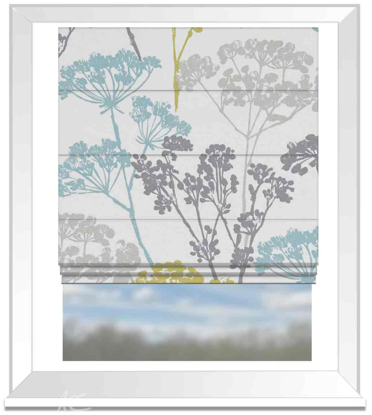 A Land And Sea Dunwich Mineral Roman Blind