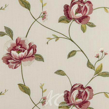 Clarke and Clarke Tatton Linens Alderley Multi Curtain Fabric