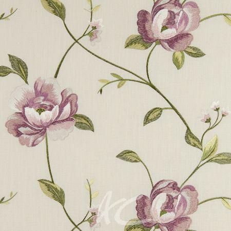 Tatton Linens Alderley Rose Curtain Fabric