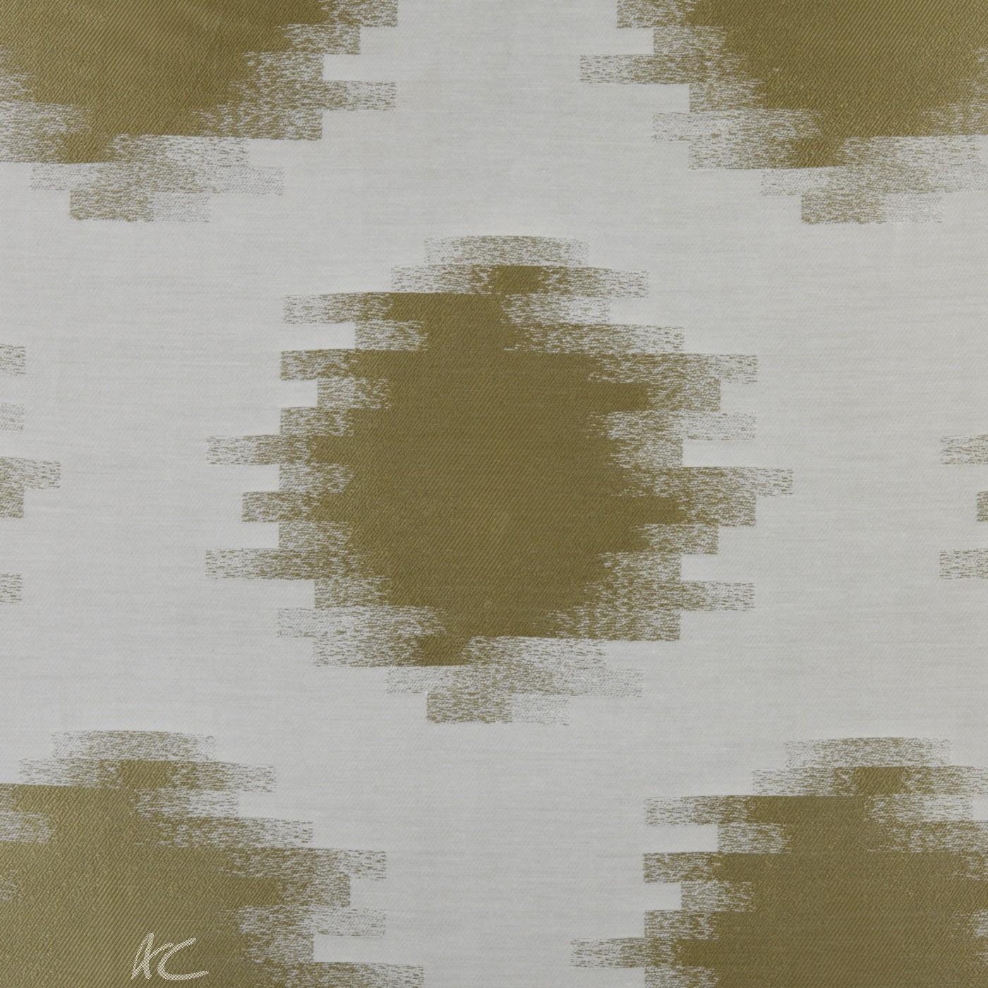 Prestigious Clarke Cosmopolitan Anatolia Avocado Curtain Fabric