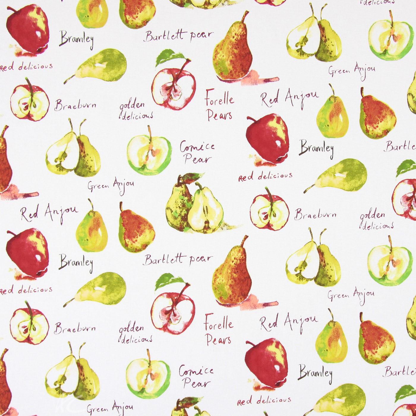 Country Fair Autumn Fruit Watercolour Roman Blind