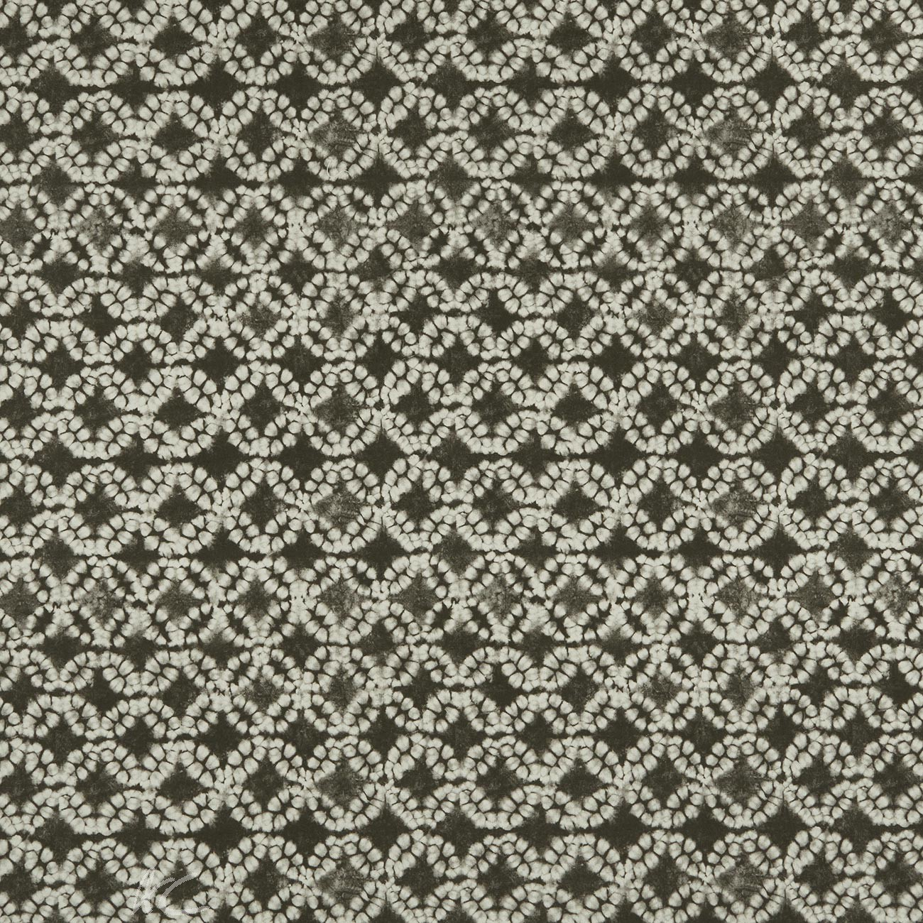Clarke and Clarke Batik Clarke and Clarke Batik Charcoal Curtain Fabric