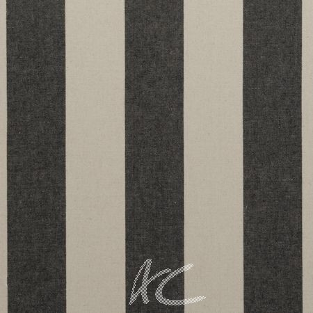 Clarke and Clarke Country Linens Broadway Charcoal Curtain Fabric
