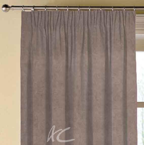 Clarke and Clarke Alvar Beaver Made to Measure Curtains