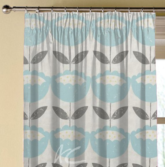 Clarke and Clarke Folia Anais Mineral Made to Measure Curtains