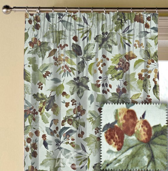Prestigious Textiles Ambleside Appleby Autumn Made to Measure Curtains