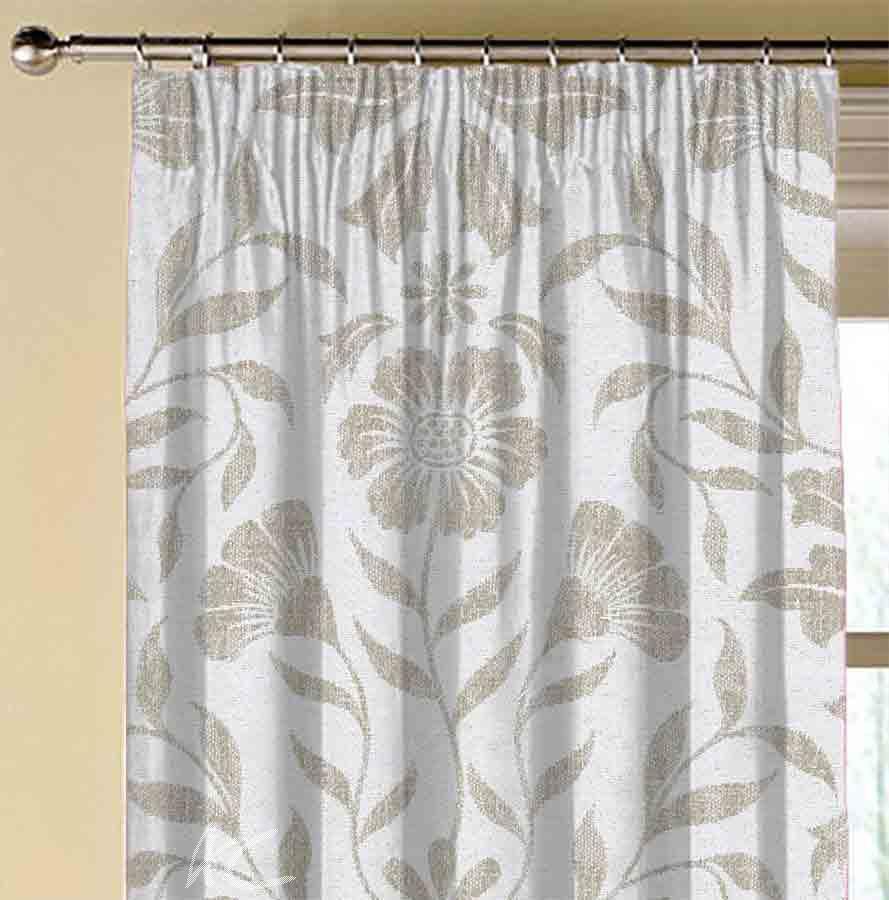 Avebury Berkeley natural  Made to Measure Curtains