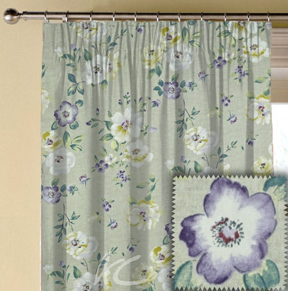 Prestigious Textiles Ambleside Bowness Foxglove Made to Measure Curtains