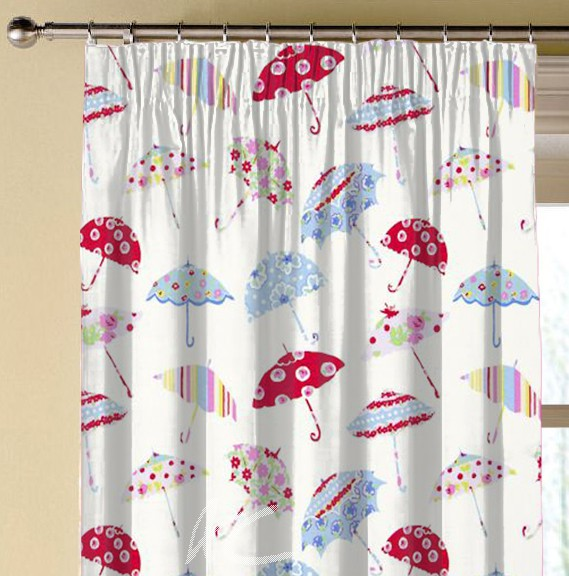 Clarke and Clarke Blighty Brollies Multi Made to Measure Curtains