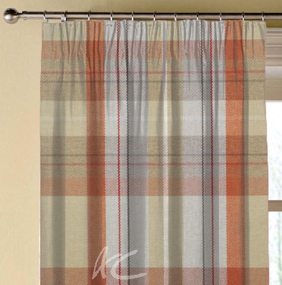 Prestigious Textiles Highlands Cairngorm Auburn Made to Measure Curtains
