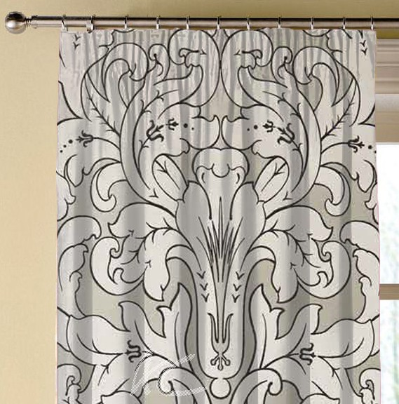 Clarke and Clarke Chateau Chateau Linen Made to Measure Curtains