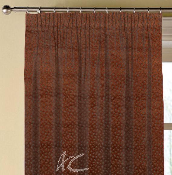 Prestigious Textiles Focus Comet Flame Made to Measure Curtains
