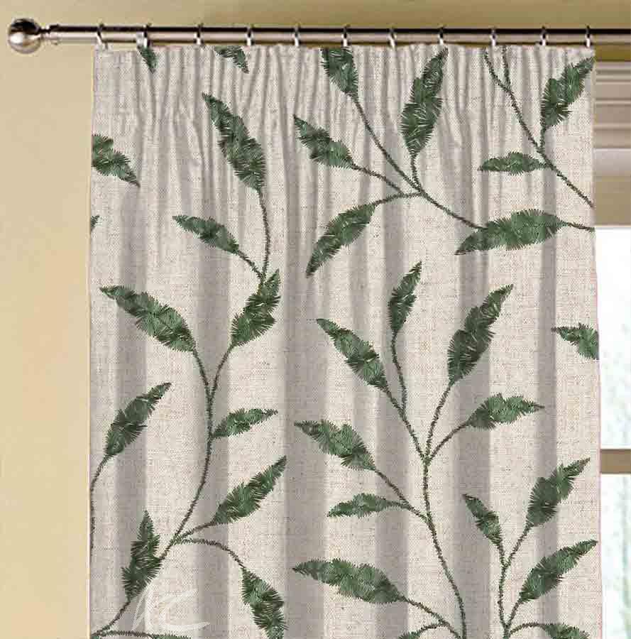 Avebury Fairford Jade Made to Measure Curtains