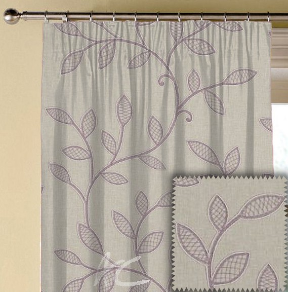 Clarke and Clarke Richmond Hetton Heather Made to Measure Curtains