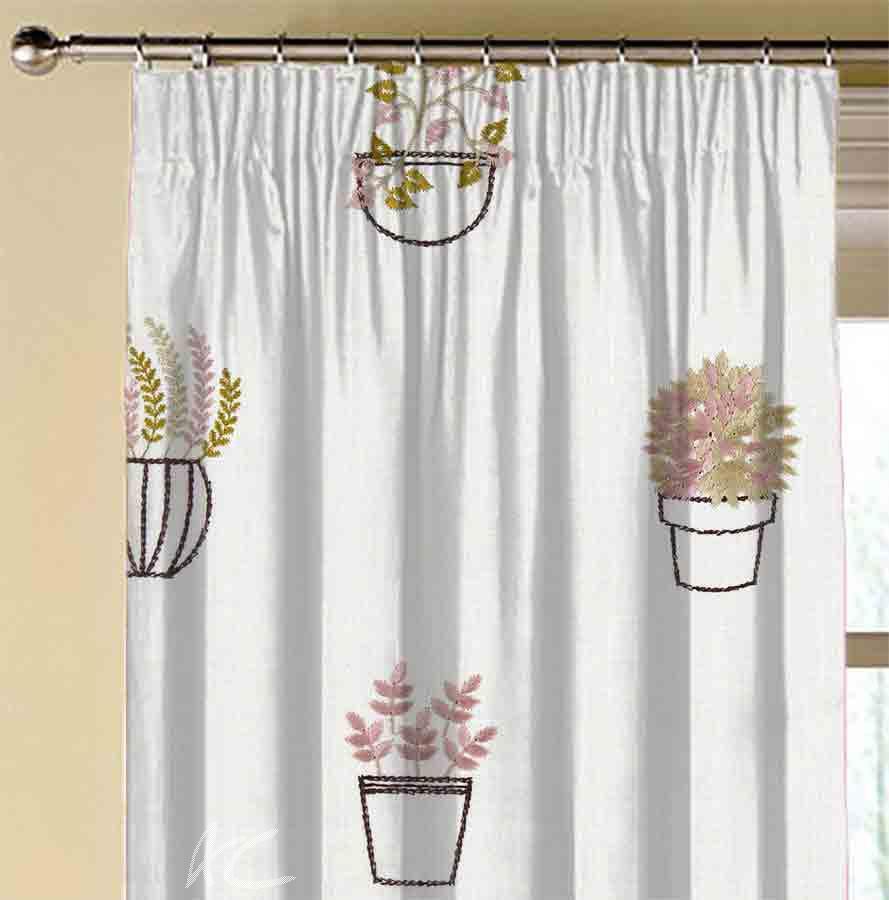 Avebury Hidcote Damson Made to Measure Curtains
