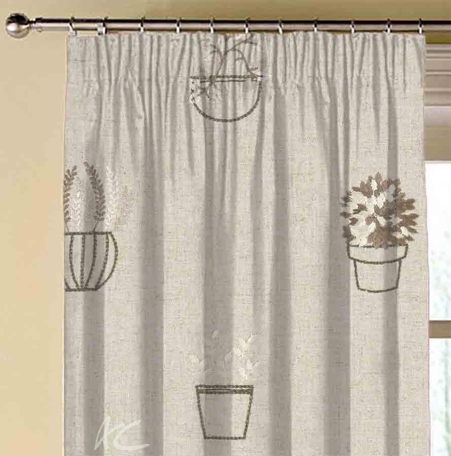 Avebury Hidcote Natural Made to Measure Curtains