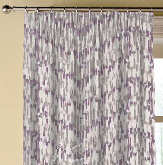 Clarke and Clarke Chateau Jardin Violet Made to Measure Curtains