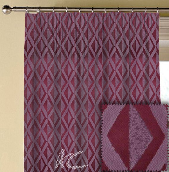 Prestigious Textiles Samba Jive Orchid Made to Measure Curtains