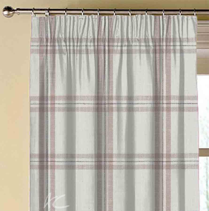 Avebury Kelmscott Heather Made to Measure Curtains