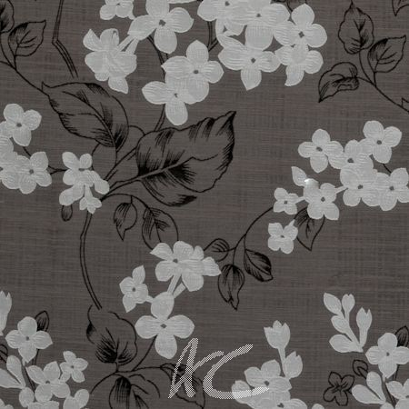 Clarke and Clarke Holland Park Clarendon Charcoal Made to Measure Curtains