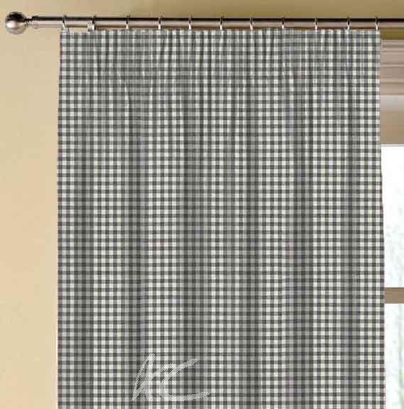 Clarke and Clarke Glenmore Loch Flannel Made to Measure Curtains