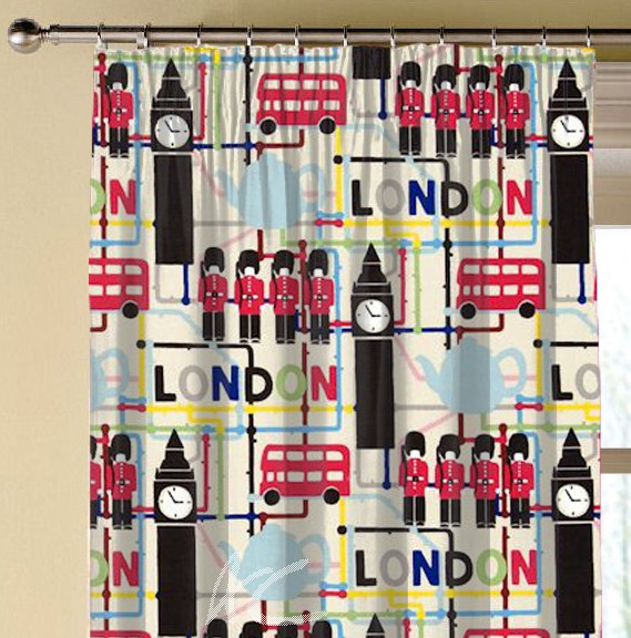 Clarke and Clarke Blighty London Multi Made to Measure Curtains