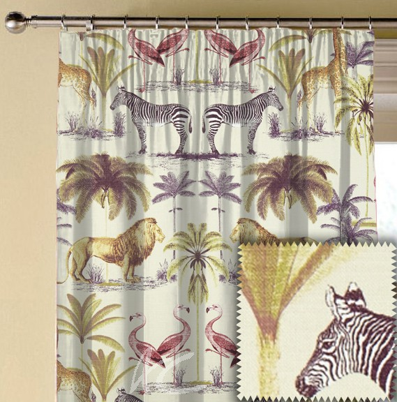 Prestigious Textiles Charterhouse Longleat Vintage Made to Measure Curtains