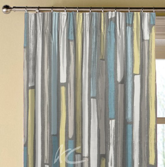 Clarke and Clarke Folia Marcelle Mineral Made to Measure Curtains