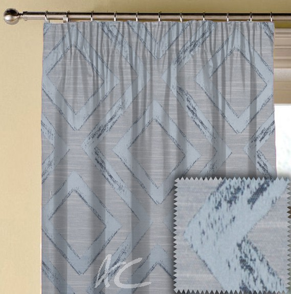 Prestigious Textiles Eden Matico Bluebell Made to Measure Curtains