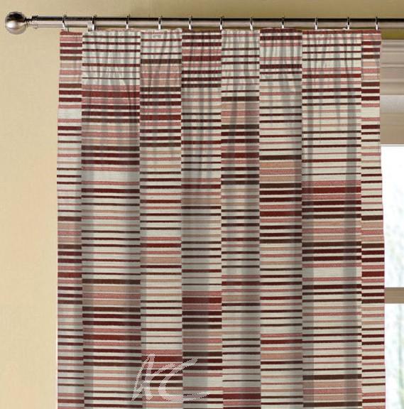 Prestigious Textiles Atrium Parquet Auburn Made to Measure Curtains