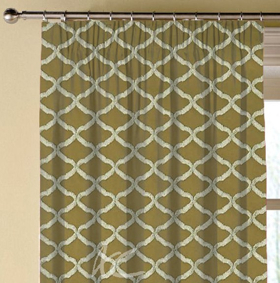 Clarke and Clarke Imperiale Reggio Antique Made to Measure Curtains