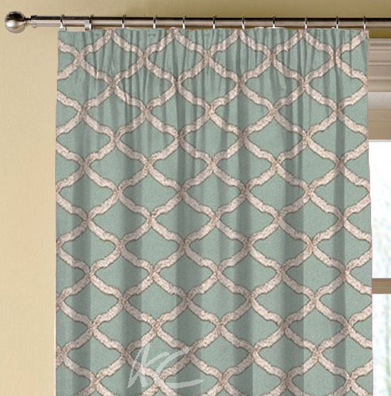 Clarke and Clarke Imperiale Reggio Mineral Made to Measure Curtains
