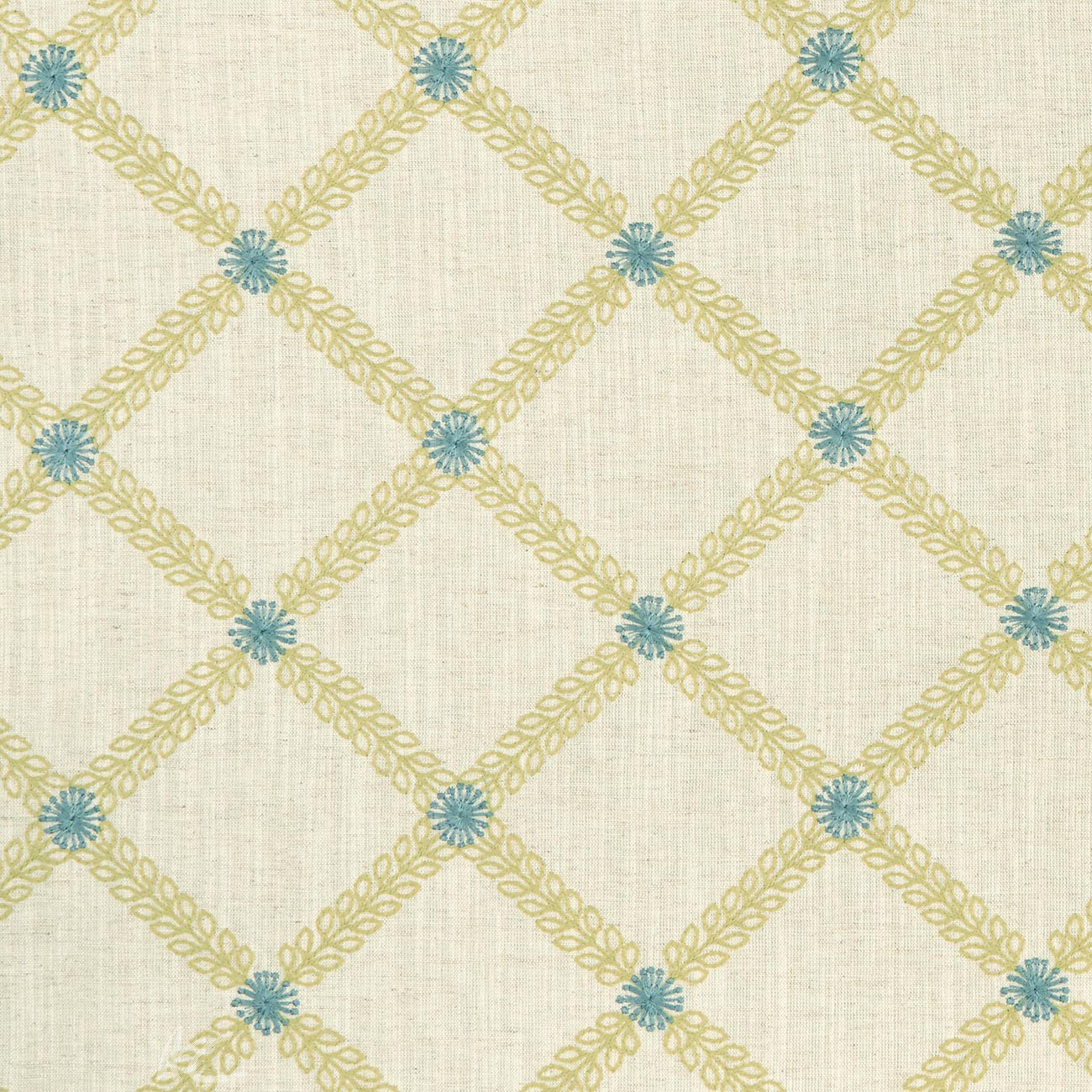 Clarke and Clarke Bloomsbury Cressida mineral-citron  Made to Measure Curtains