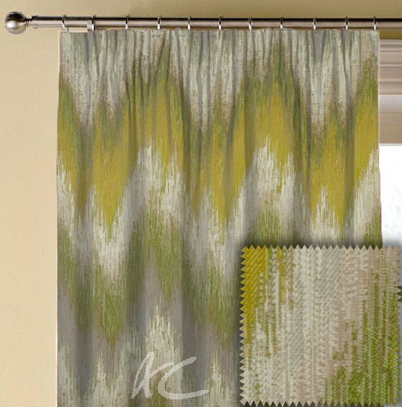 Prestigious Textiles Iona Santorini Willow Made to Measure Curtains