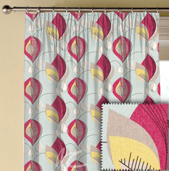 Clarke and Clarke Festival Starlight Summer Made to Measure Curtains