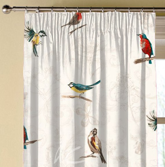 Clarke and Clarke Blighty Titchwell Multi Made to Measure Curtains