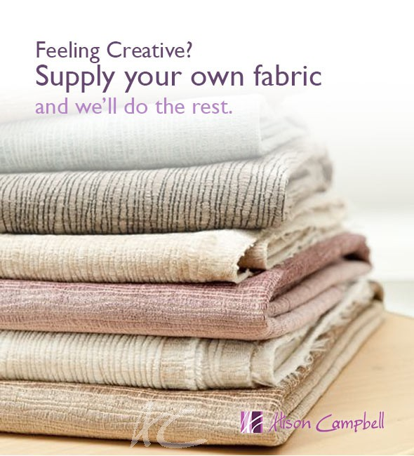 Use your own fabric