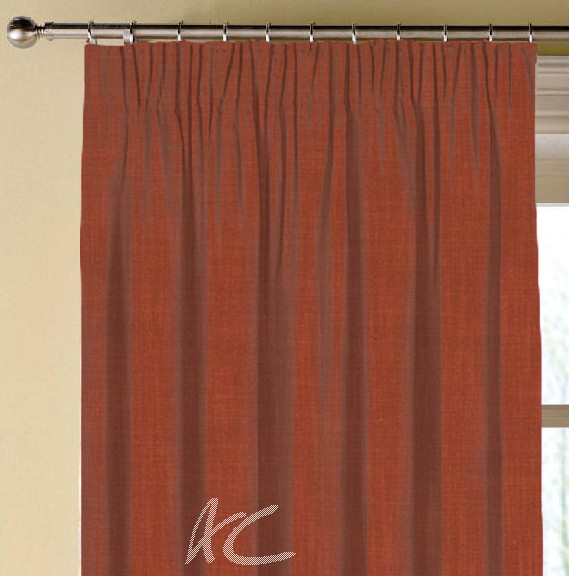 Clarke and Clarke Vienna Spice Made to Measure Curtains
