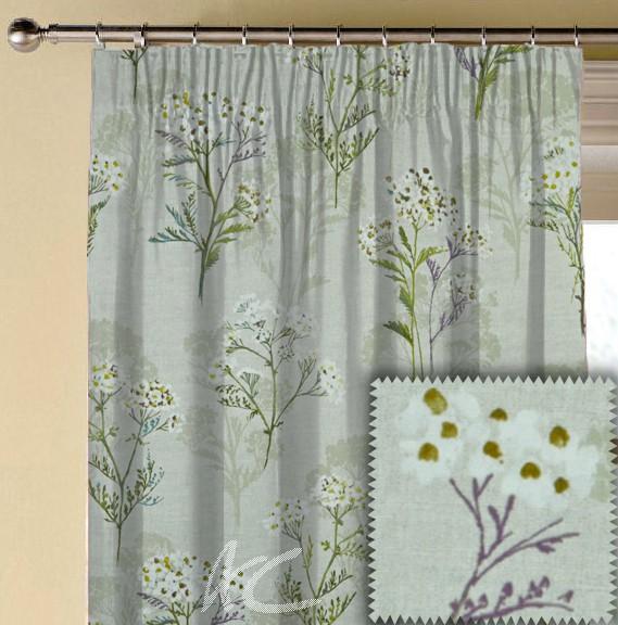 Prestigious Textiles Ambleside Yarrow Hollyhock Made to Measure Curtains