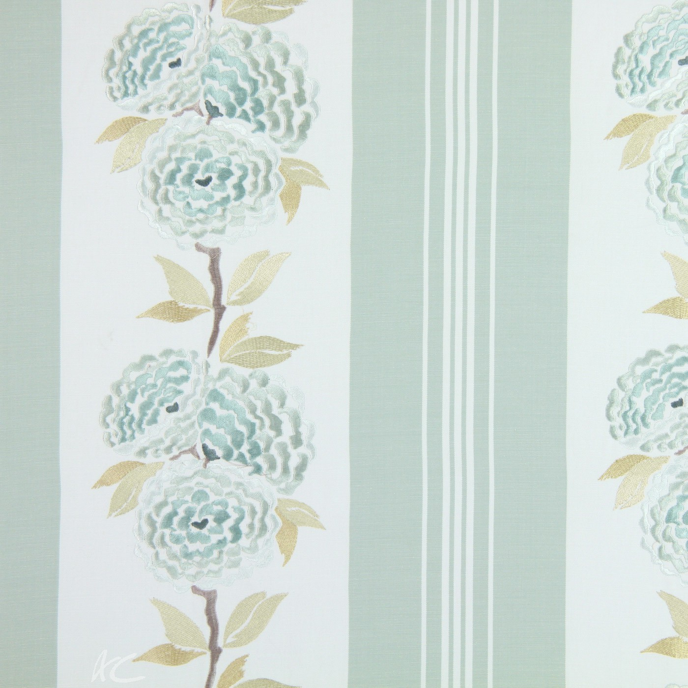 Pemberley Darcy Duckegg Made to Measure Curtains