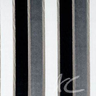Clarke and Clarke Academy Velvets Emilio Ebony Made to Measure Curtains