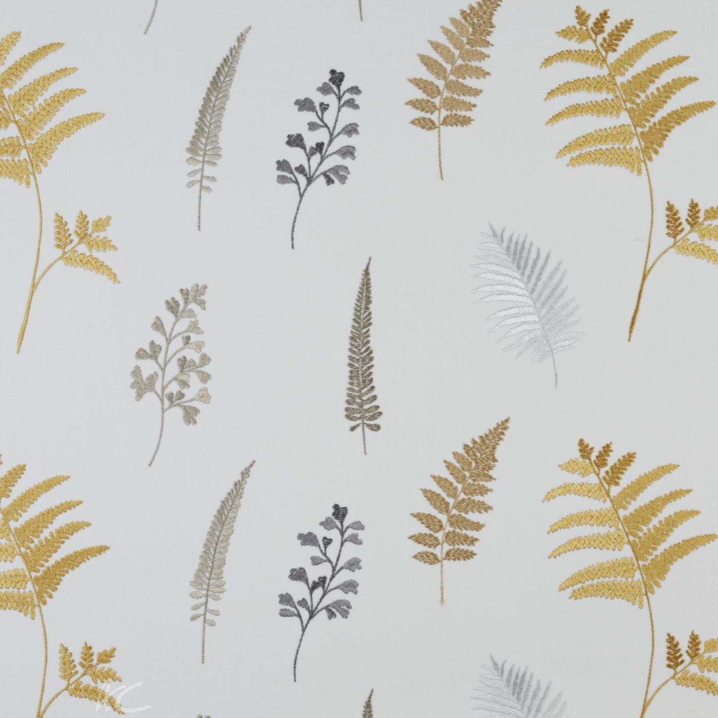 Prestigious Textiles Secret Garden Fauna Ocre Curtain Fabric