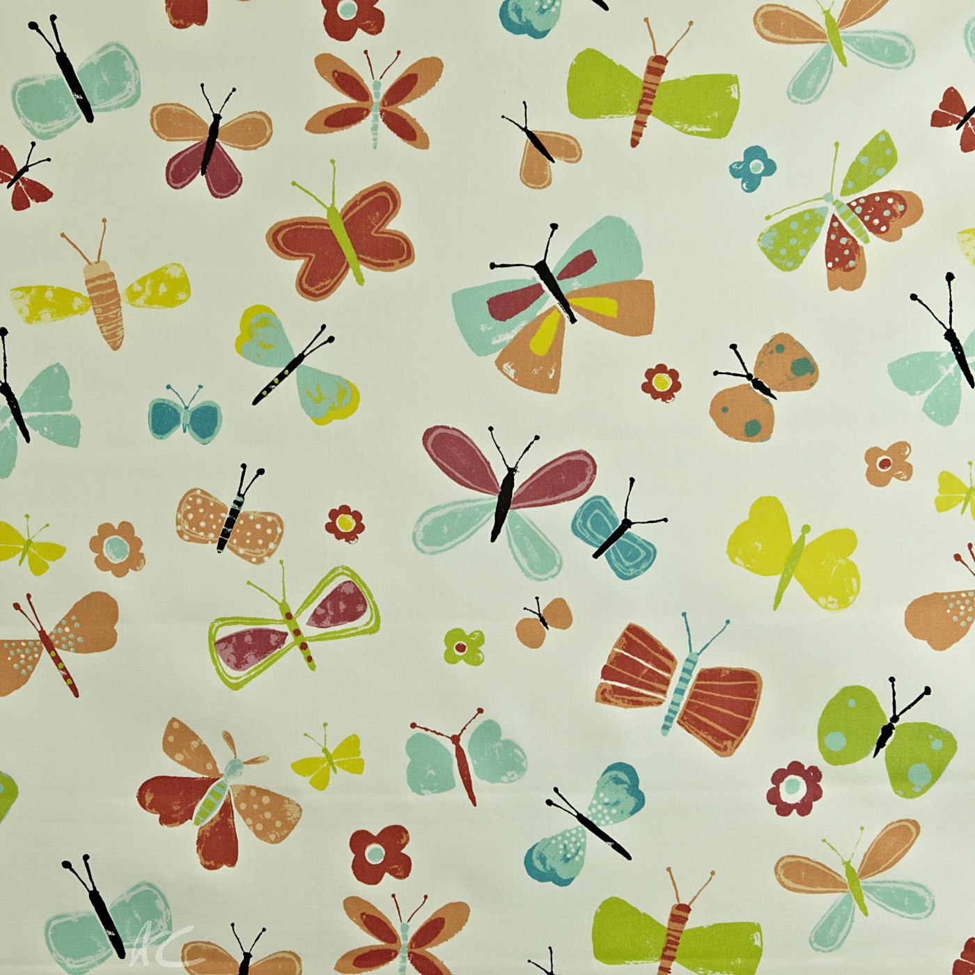 Prestigious Textiles Playtime Florence Mango Made to Measure Curtains