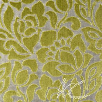 Clarke and Clarke Academy Velvets Florentine Citrus Made to Measure Curtains