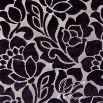Clarke and Clarke Academy Velvets Florentine Purple Cushion Covers