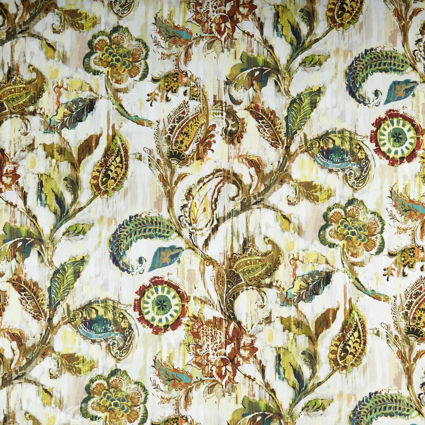 A Prestigious Textiles Decadence Grandeur Burnished Curtain Fabric