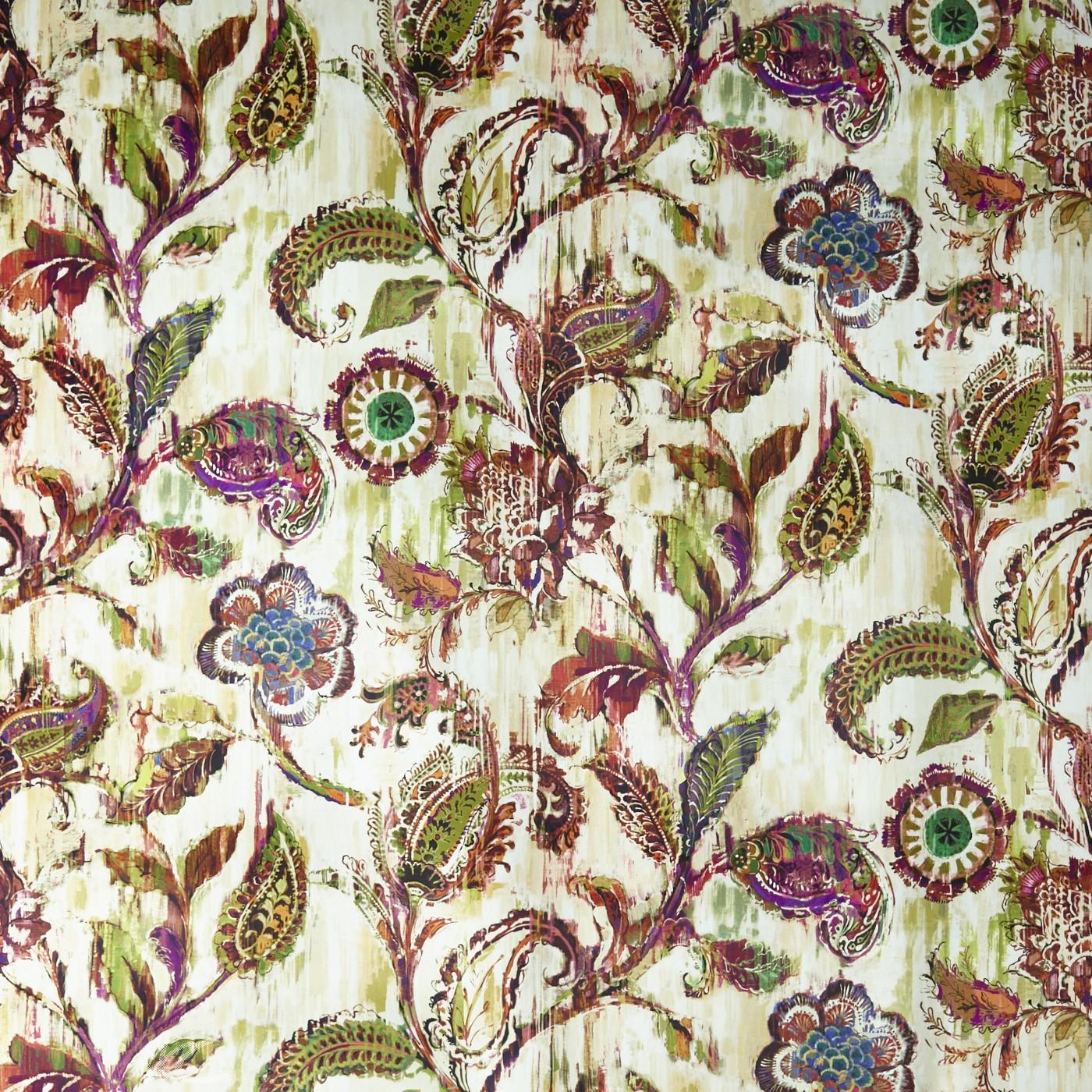 A Prestigious Textiles Decadence Grandeur Medici Curtain Fabric