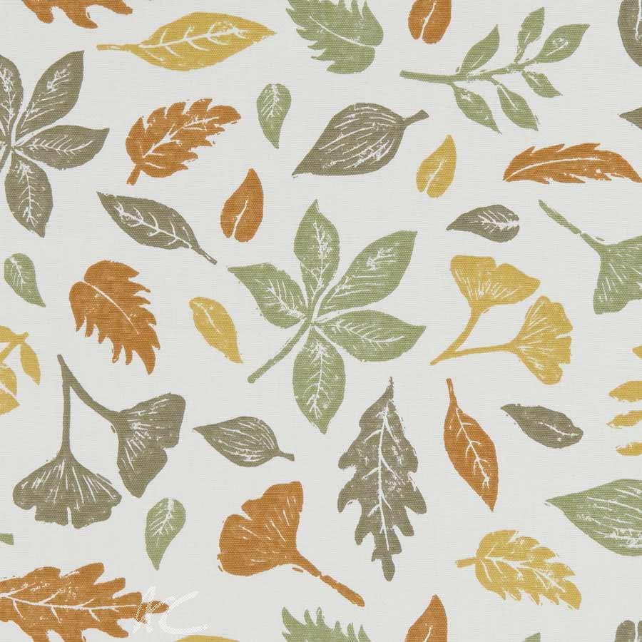 A Land and Sea Hawthorn Autumn  Curtain Fabric