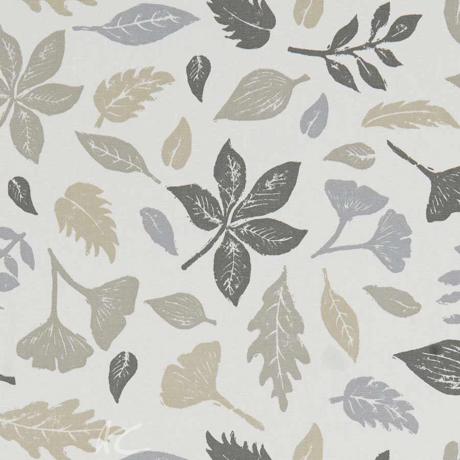 A Land and Sea Hawthorn Natural Curtain Fabric
